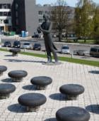 Памятник Э.Тубину