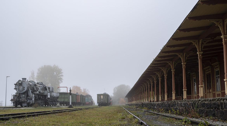 Осень в Хаапсалу. Вокзал